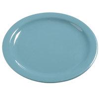 Carlisle 4385063 Turquoise Dayton 10 1/4 inch Melamine Dinner Plate - 48 / Case