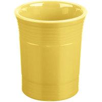 Homer Laughlin 447320 Fiesta Sunflower 6 5/8 inch Utensil Crock - 4/Case