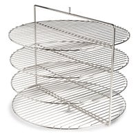 Nemco 66791-1 Four Tier Rack System for 6452 Pizza and Hot Food Merchandiser