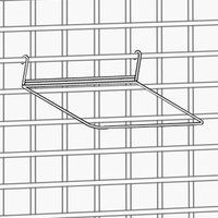 Metro STP3BR Smartwall G3 Plated Insert 1/3 Size Pan Holder 7 1/2 inch x 12 1/2 inch x 4 inch