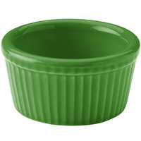 Hall China 30834324 Shamrock 2.75 oz. Colorations Fluted Ramekin - 36/Case