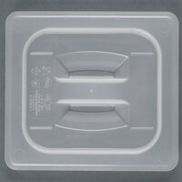 Cambro 60PPCH 1/6 Size Translucent Polypropylene Handled Lid