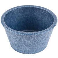 HS Inc. HS1014 2.5 oz. Blueberry Polyethylene Ramekin - 48 / Case