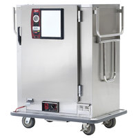 Metro MBQ-72-QH Insulated Heated Banquet Cabinet With Quad-Heat System- One Door Holds up to 72 Plates 120V