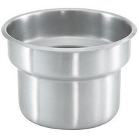 Vollrath 4635430-1 Stainless Steel Inset for 4635410 Somerville Gravy / Sauce Urn