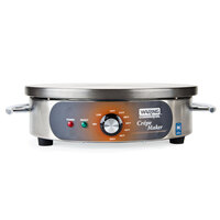 Waring WSC165B 16 inch Round Crepe Maker - 208/240V, 2170/2880W