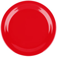 Carlisle 4350105 Dallas Ware 9 inch Red Melamine Plate - 48/Case