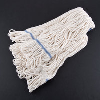 Continental A02513 32 oz. Blend Loop End Natural Mop Head with 1 1/4 inch Band