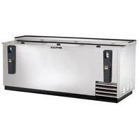 True TD-80-30-S 80 inch Stainless Steel Horizontal Bottle Cooler