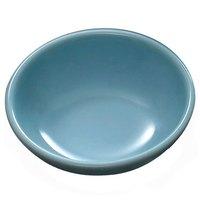 Blue Jade 3 oz. Round Melamine Sauce Dish - 24 / Pack