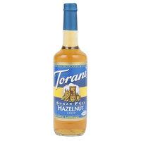 Torani 750 mL Sugar Free Hazelnut Flavoring Syrup