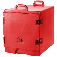 Cambro 300MPC158 Hot Red Camcarrier Pan Carrier with Handles - Front Load for 12 inch x 20 inch Food Pans