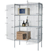 Wire Security Cage - 60 inch x 24 inch x 63 inch