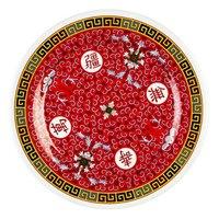 Longevity 15 1/2 inch Round Melamine Plate - 12/Pack
