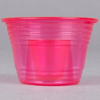 Fineline Quenchers 4112-RD Blaster Bomb Shot Cups / Power Bombs Neon Red - 500 / Case