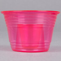 Fineline Quenchers 4112-RD Blaster Bomb Shot Cups / Power Bombs Neon Red - 500/Case