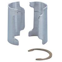 Metro 9986Z Aluminum Split Sleeves with Zinc Rings - 4/Pack