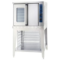Alto-Shaam ASC-4E Platinum Series Full Size Electric Convection Oven with Manual Controls - 208V, 10400W