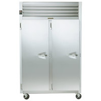Traulsen G22013 52 inch G Series Two Section Solid Door Reach in Freezer with Left / Left Hinged Doors - 46 cu. ft.