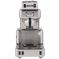 Bunn 20820.0001 OL 20 Automatic Stainless Steel Coffee Brewer with 1 Lower and 1 Upper Warmer - 120V
