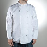 Chef Revival J007-3X Size 56 (3X) Customizable Luxury Cotton Corporate Chef Jacket