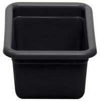 Cambro 912CBP110 12 inch x 9 inch x 5 inch Black Polyethylene Plastic Utility Box