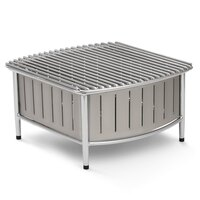 Vollrath 4667480 Natural Small Buffet Station with Wire Grill