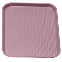 Blush Colored Cambro 1216FF409 12 inch x 16 inch Customizable Fast Food Tray 24/Case