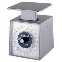 Edlund MSR-2000 2000 g Stainless Steel Metric Portion Scale with 6 inch x 6 3/4 inch Platform