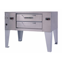 Bakers Pride GS-805 Super Deck Liquid Propane Single Deck Pizza Oven - 60,000 BTU