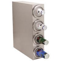 Carlisle 38884G 4 Tube Countertop Vertical Cabinet Cup Dispenser