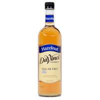 DaVinci Gourmet 750 mL Hazelnut Sugar Free Coffee Flavoring Syrup