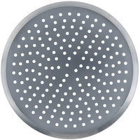 American Metalcraft CAR18P 18 inch Perforated Heavy Weight Aluminum CAR Pizza Pan