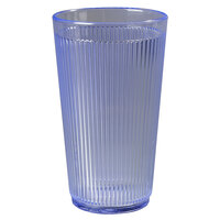 Carlisle 403314 Ocean Blue Crystalon RimGlow Tumbler 12 oz. - 48 / Case