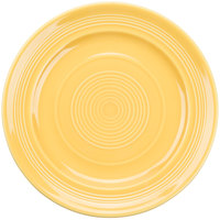 Tuxton CSA-090 Concentrix 9 inch Saffron China Plate - 24/Case
