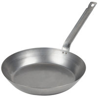 Vollrath 58930 Carbon Steel Fry Pan 12 1/2 inch - French Style