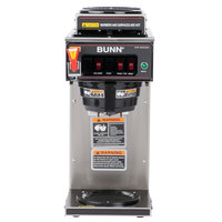 Bunn 12950.0213 CWTF15-3 Automatic 12 Cup Coffee Brewer with 2 Upper Warmers, 1 Lower Warmer, and Plastic Funnel - 120V