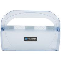 San Jamar TS510TBL Toilet Seat Cover Dispenser - Arctic Blue