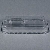 Cambro DCC5135 Clear Deli Crock Lid for 2.2 Qt. Deli Crocks - 6/Case
