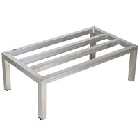 Regency 36 inch x 24 inch x 8 inch Aluminum Dunnage Rack - 1300 lb. Capacity