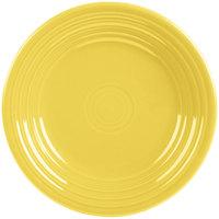 Homer Laughlin 465320 Fiesta Sunflower 9 inch Luncheon Plate - 12/Case