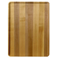 Cambro 1222D303 12 inch x 22 inch Light Butcher Block Wood-Look Dietary Tray - 12/Case