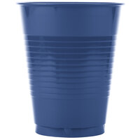 Creative Converting 28113781 16 oz. Navy Blue Plastic Cup - 20 / Pack