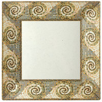 GET ML-90-MO 12 inch Square Mosaic Plate - 6/Case