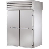 True STR2RRT-2S-2S Specification Series Two Section Roll Through Refrigerator with Front and Rear Solid Doors - 75 Cu. Ft.