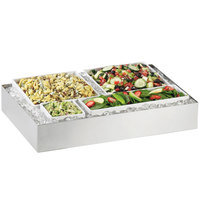 Cal-Mil 1399-55 Cater Choice System Stainless Steel Ice Housing - 24 inch x 16 inch x 4 1/4 inch