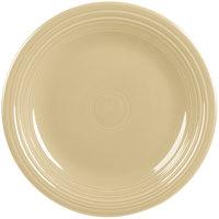 Homer Laughlin 466330 Fiesta Ivory 10 1/2 inch Plate - 12/Case
