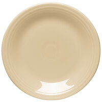 Homer Laughlin 466330 Fiesta Ivory 10 1/2 inch Dinner Plate - 12 / Case