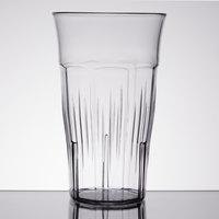 Carlisle 4365507 Lorraine 22 oz. Clear SAN Plastic Tumbler - 12/Case