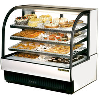 True TCGR-50 50 inch White Refrigerated Bakery Case - 27.4 Cu. Ft.